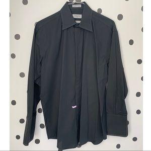 🔥30%LFF🔥Claiborne Luxe Black Button Down Size 16